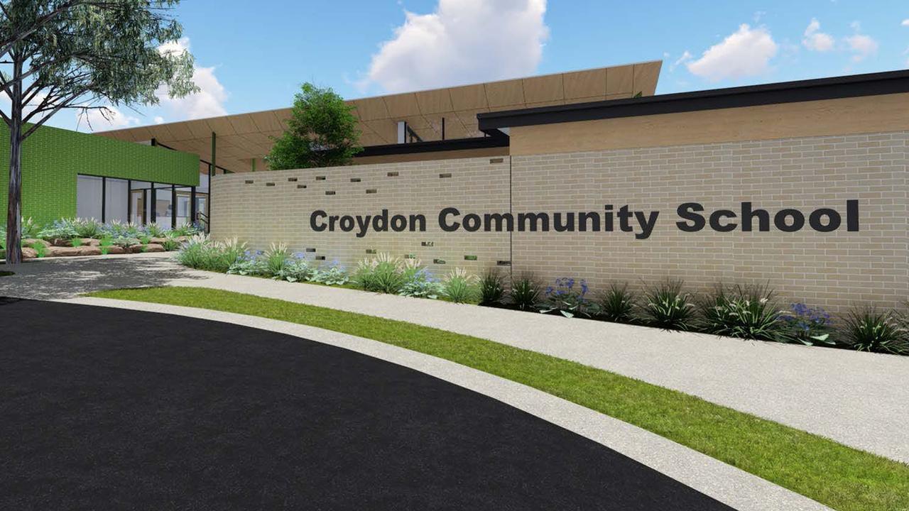 An artist's impression of the new Croydon Community School. Picture: Crosier Scott Architects